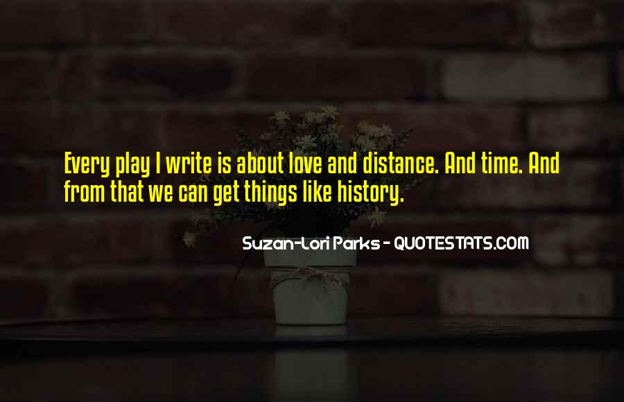 Quotes About Distance And Love #878288