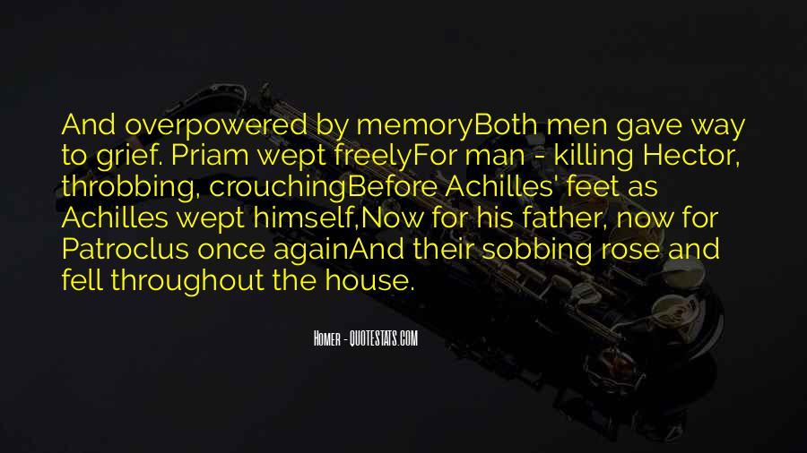 Quotes About Patroclus #1219311