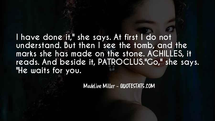 Quotes About Patroclus #1736574