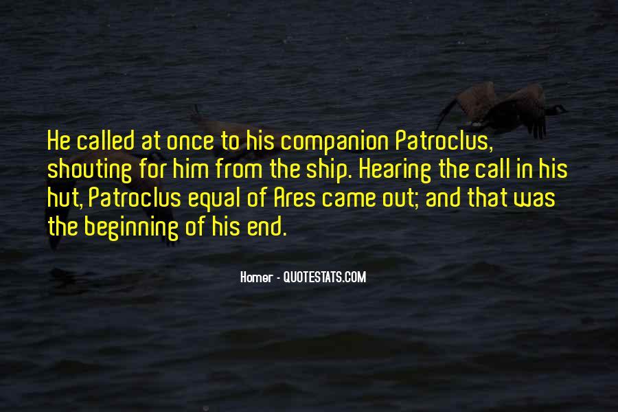 Quotes About Patroclus #427815