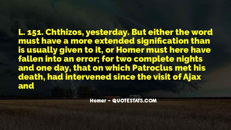 Quotes About Patroclus #678489