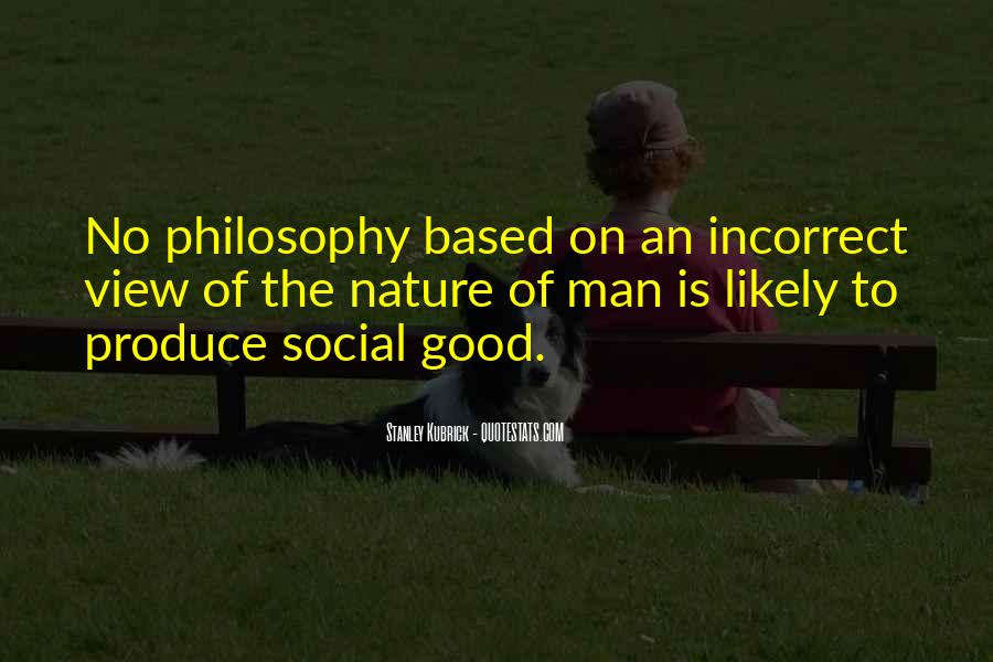 Quotes About The Social Nature Of Man #1762275