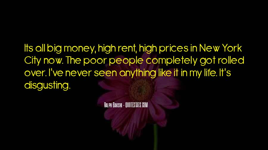 Quotes About Money Not Being Everything In Life #25035