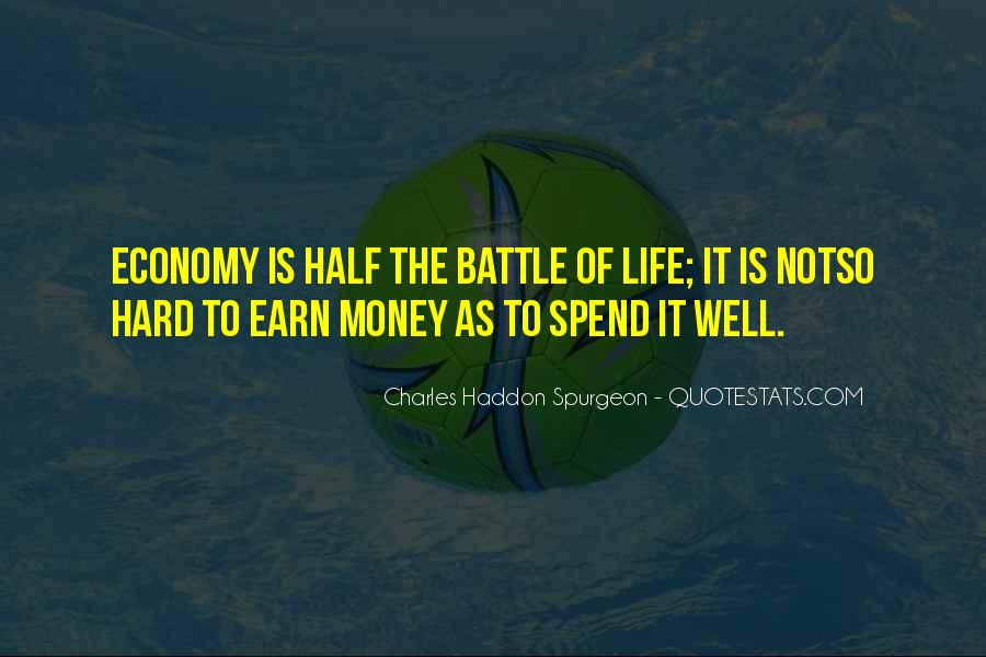 Quotes About Money Not Being Everything In Life #81383