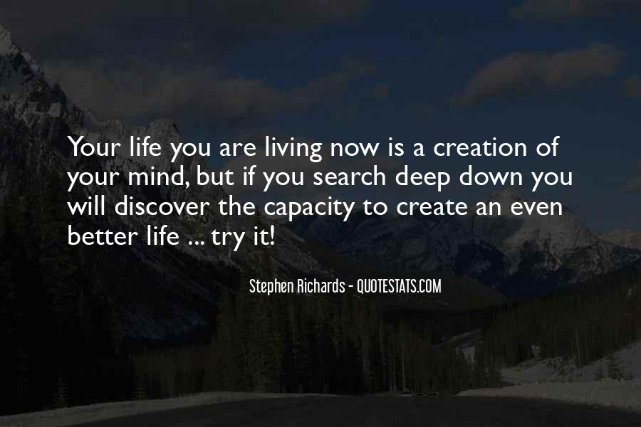 Quotes About Living Now #179495