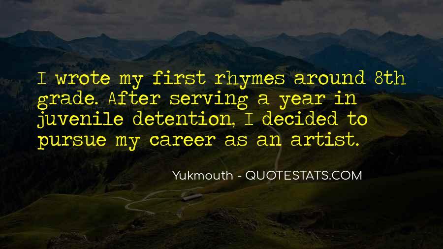 Quotes About Juvenile Detention #640117