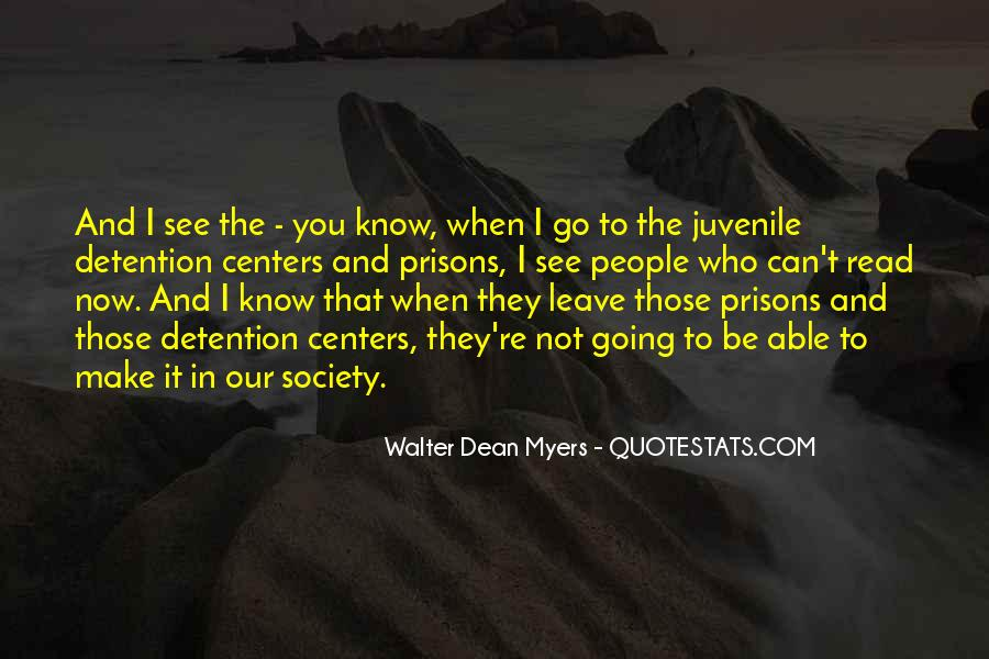 Quotes About Juvenile Detention #70291