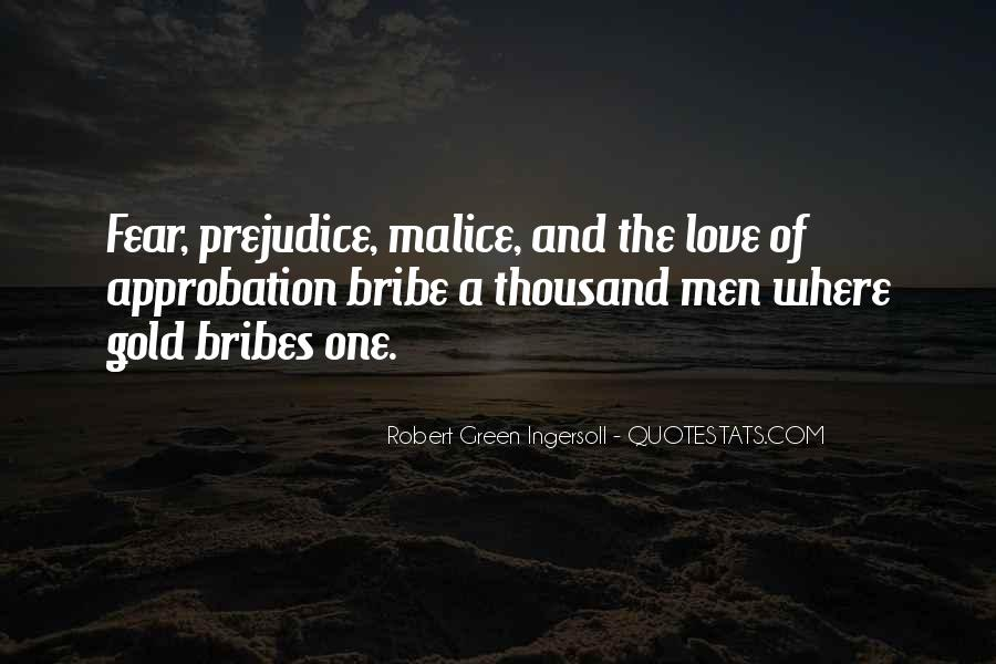 Quotes About Bribes #1131411