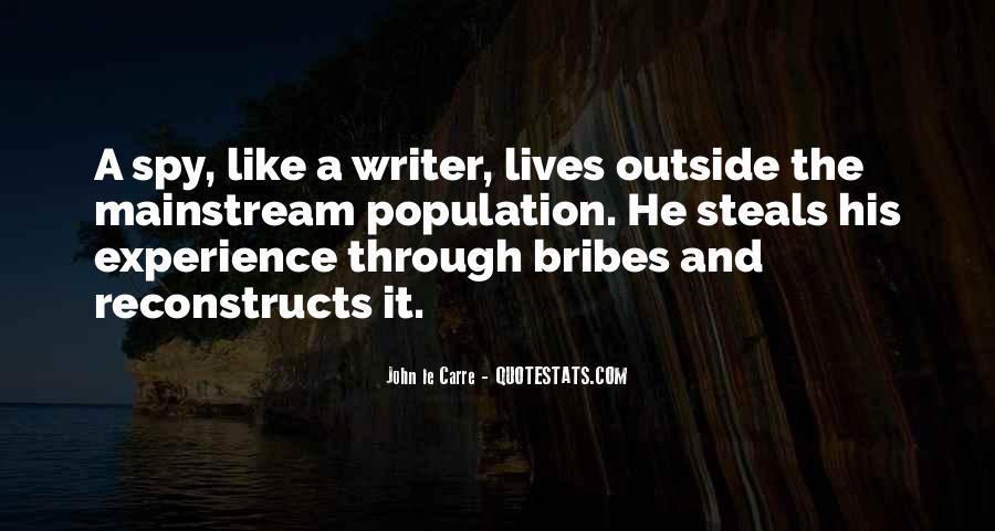 Quotes About Bribes #1438375