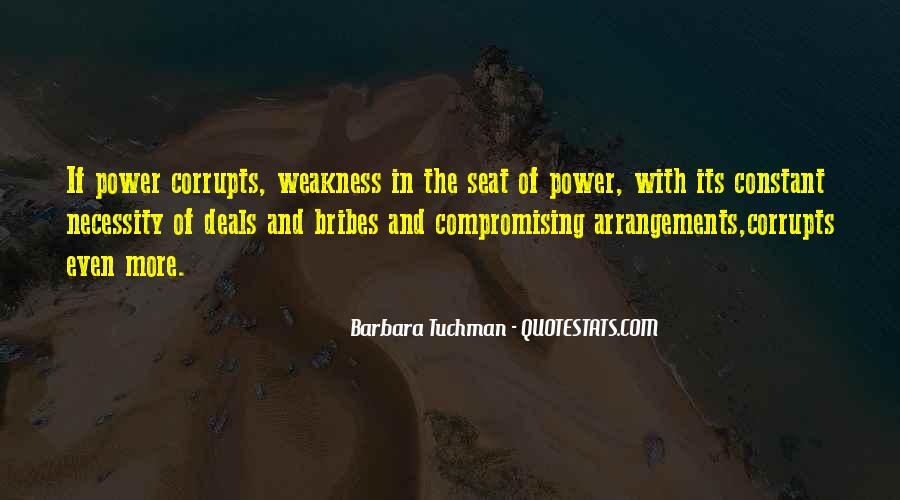 Quotes About Bribes #1469876
