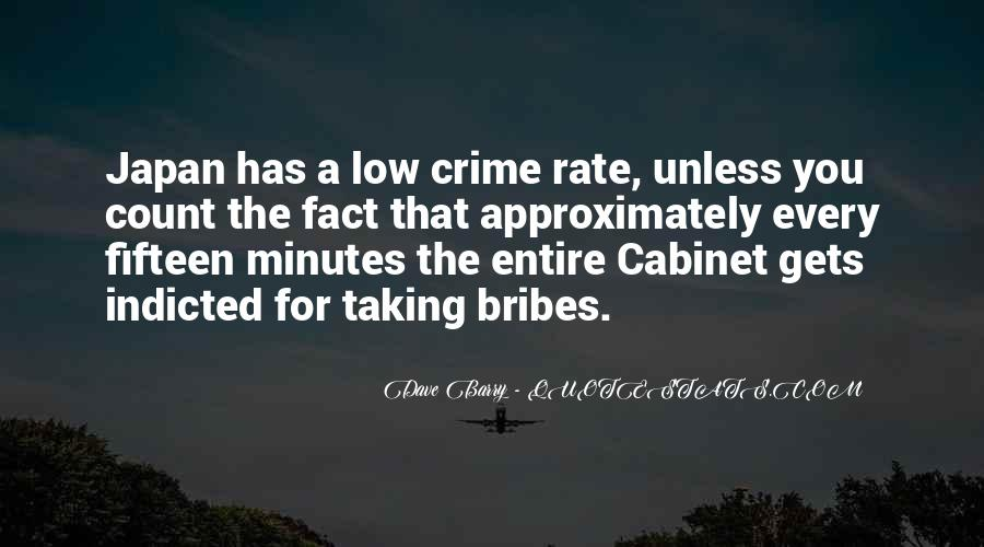 Quotes About Bribes #216907