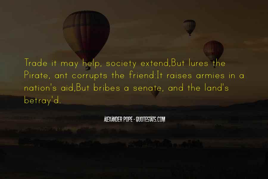 Quotes About Bribes #464078