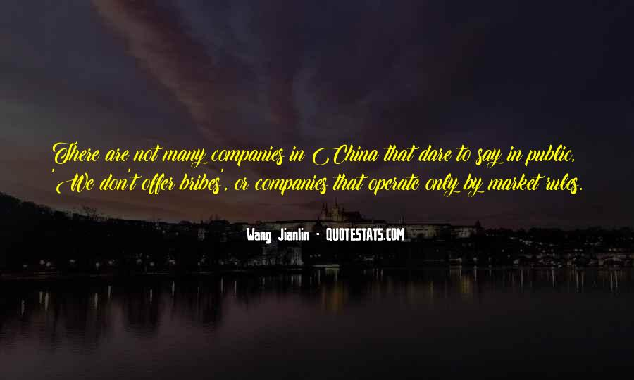 Quotes About Bribes #643804