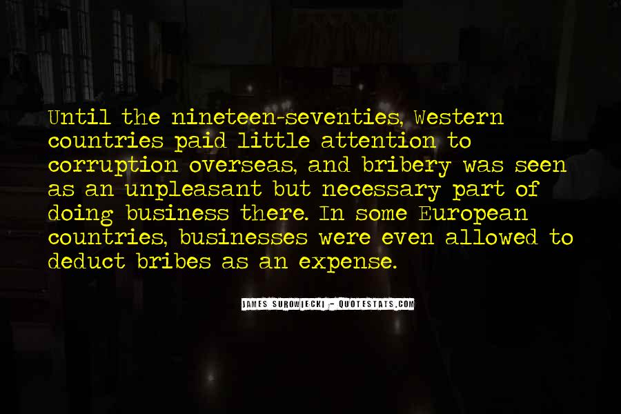 Quotes About Bribes #708186