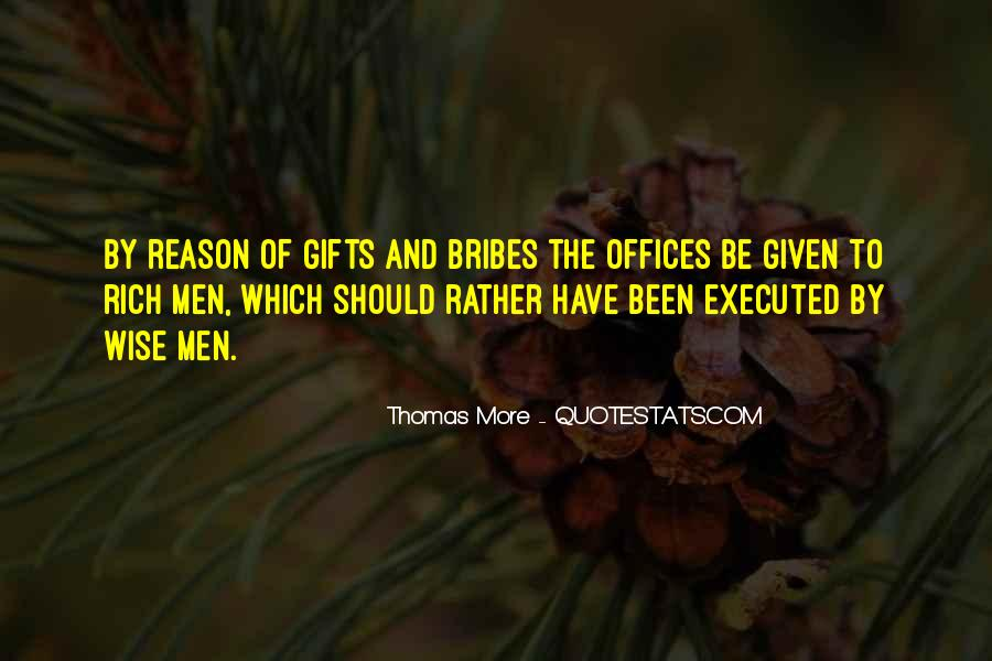 Quotes About Bribes #999028