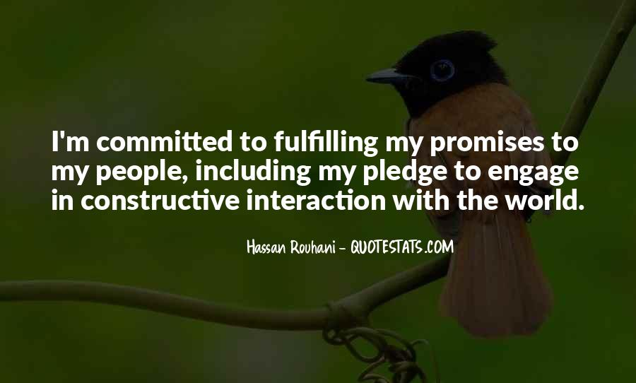 Quotes About Interaction #225755