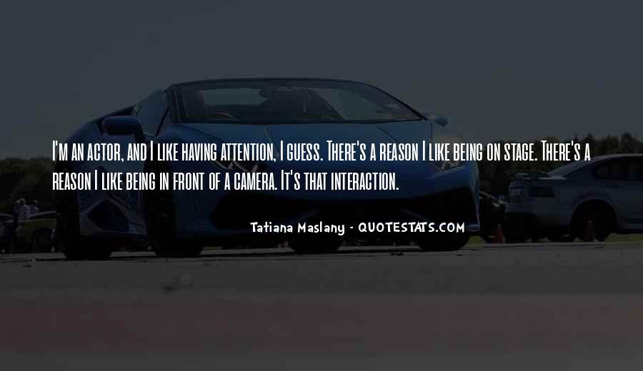 Quotes About Interaction #24347