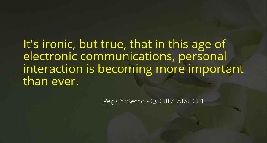 Quotes About Interaction #267308
