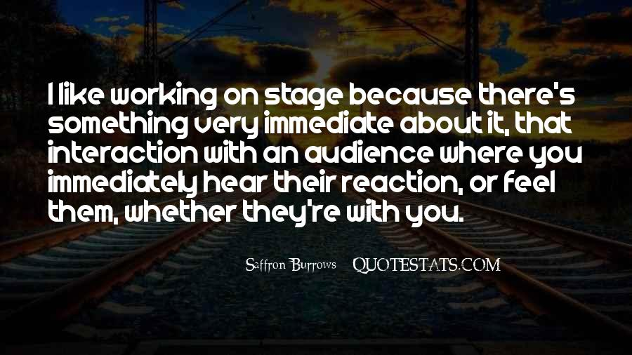 Quotes About Interaction #272299