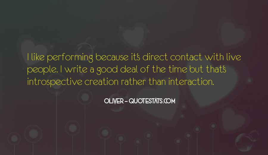 Quotes About Interaction #296452