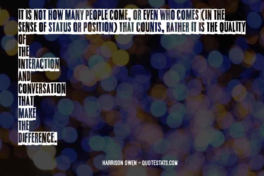 Quotes About Interaction #317701