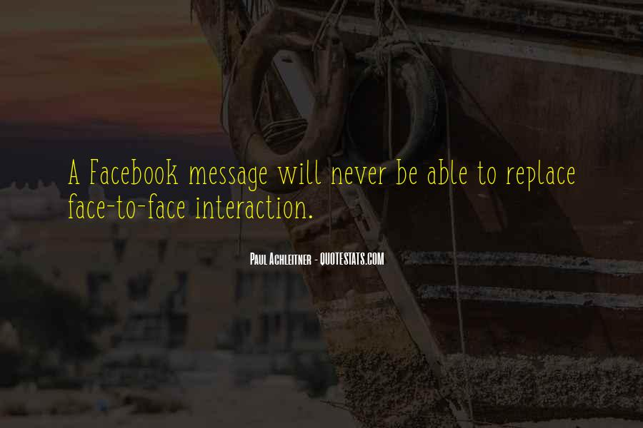 Quotes About Interaction #48126