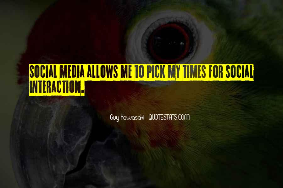Quotes About Interaction #61558