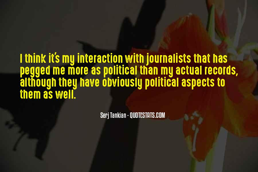 Quotes About Interaction #68430