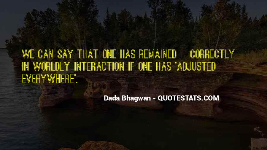 Quotes About Interaction #92816