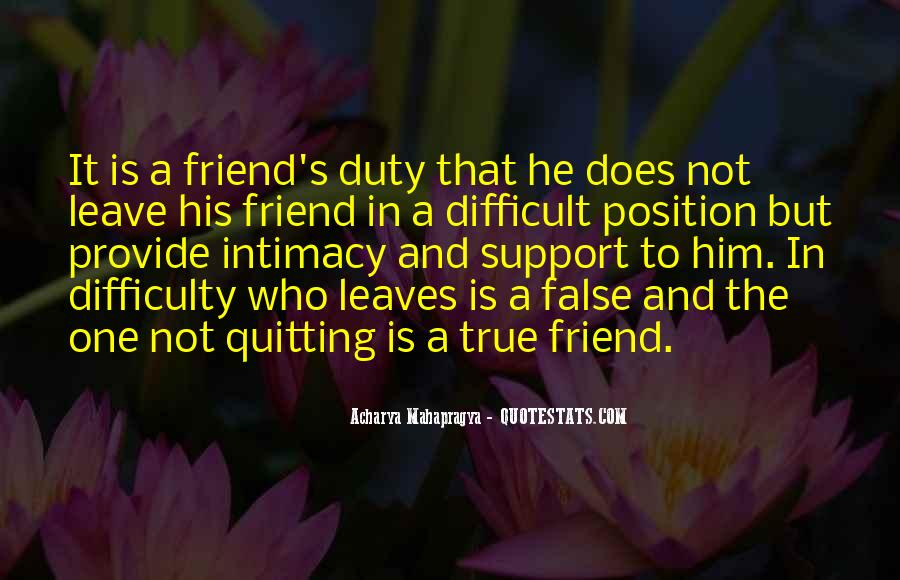 Quotes About Moral Support #152400