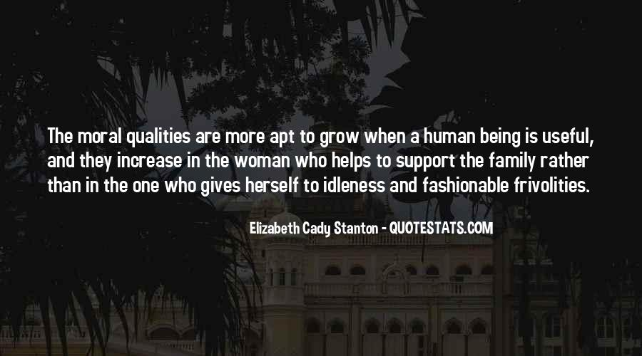 Quotes About Moral Support #1793921