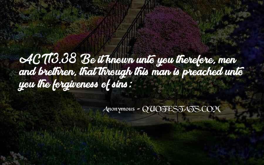 Quotes About Brethren #162924