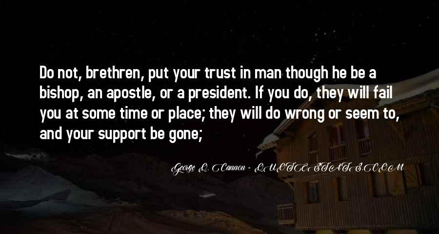 Quotes About Brethren #276986