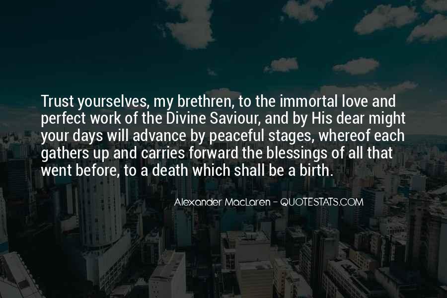 Quotes About Brethren #342280