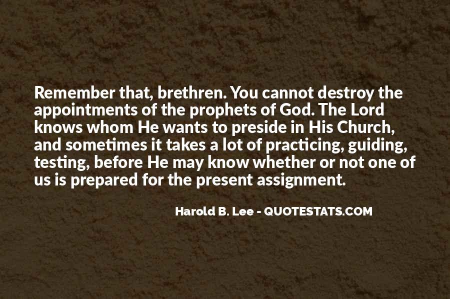 Quotes About Brethren #463758