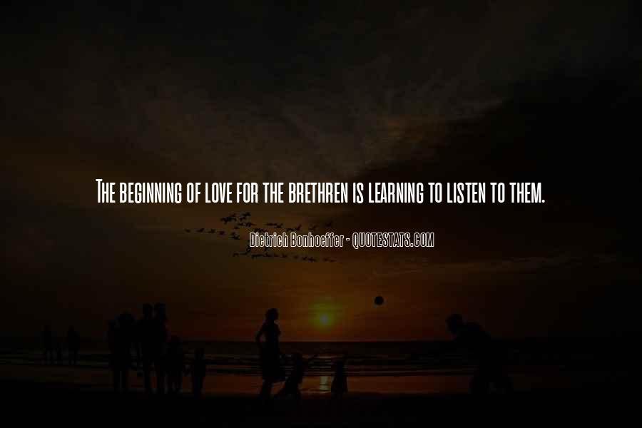 Quotes About Brethren #49654