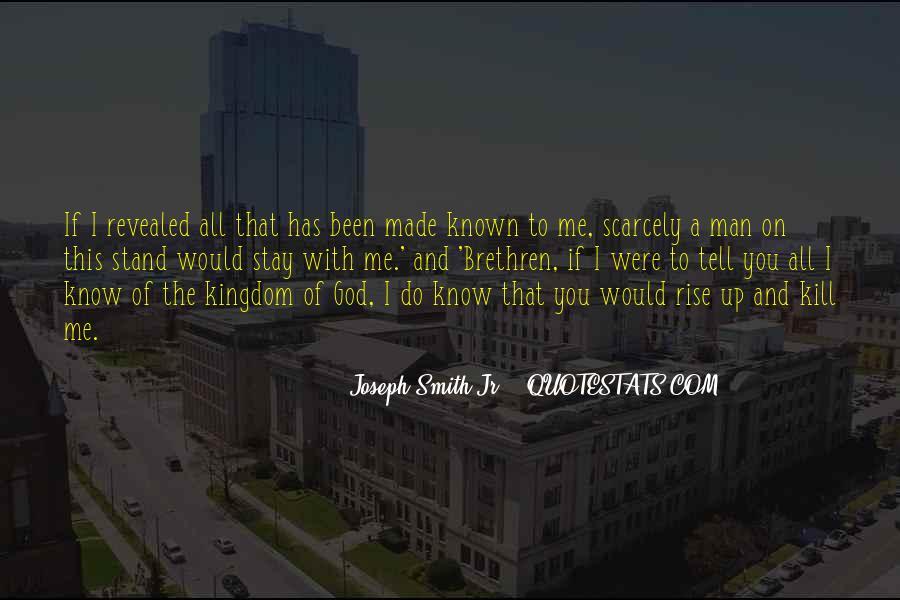 Quotes About Brethren #499107