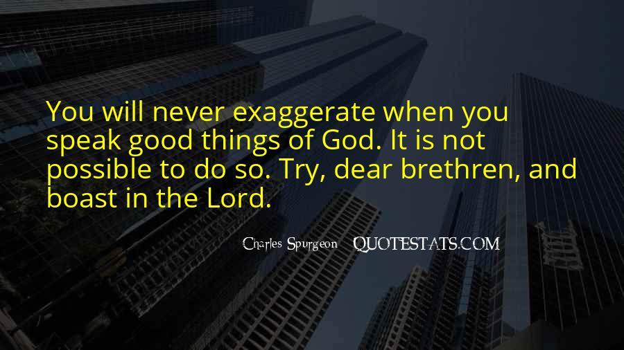 Quotes About Brethren #527637