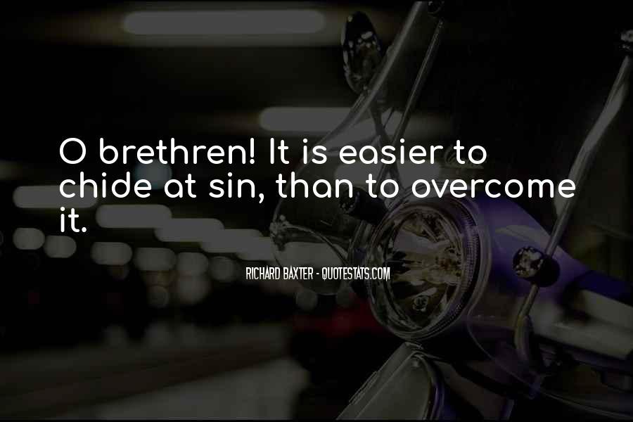 Quotes About Brethren #710088
