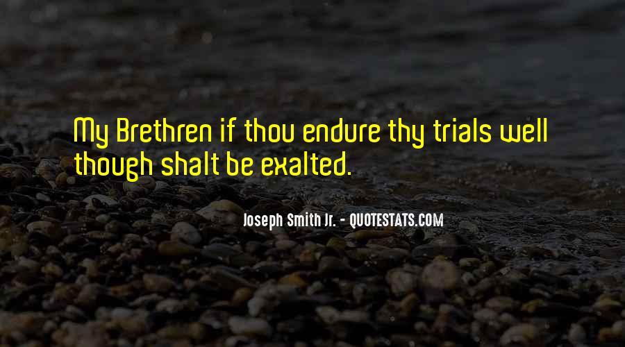 Quotes About Brethren #739821