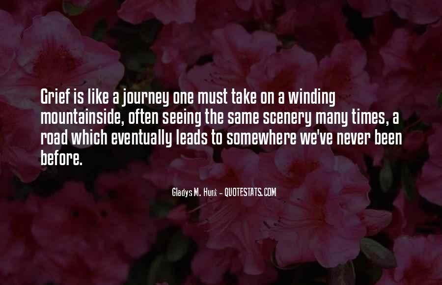 Quotes About The Winding Road #1547534