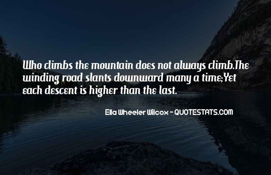 Quotes About The Winding Road #1874322