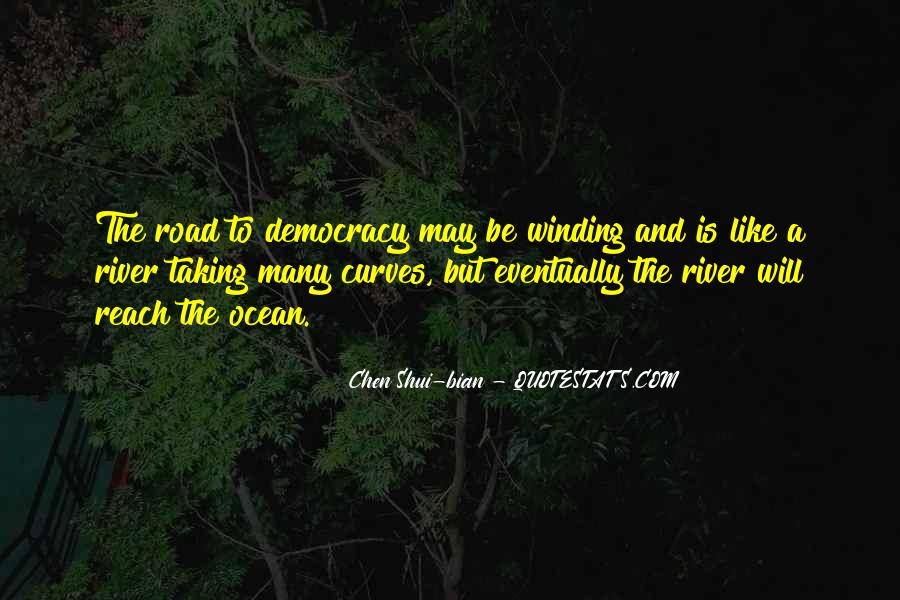 Quotes About The Winding Road #336495