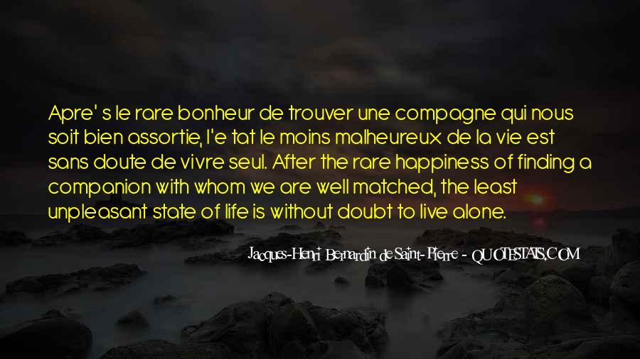 Quotes About Bonheur #953357