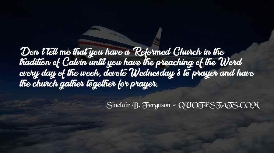 Quotes About Reformed Prayer #614851