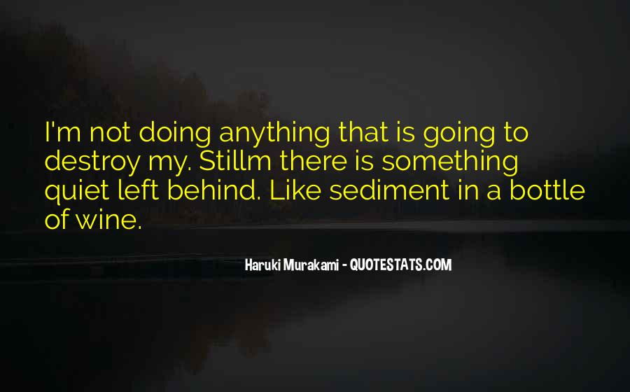 Quotes About Sediment #1413212
