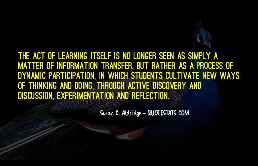 Quotes About Reflection In Teaching #795981