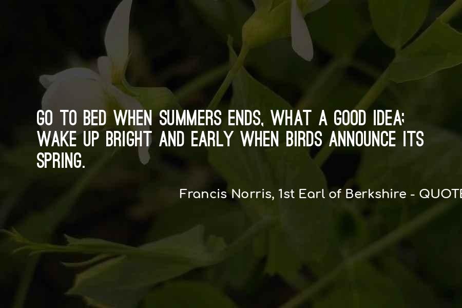 Quotes About Spring And Summer #1036401