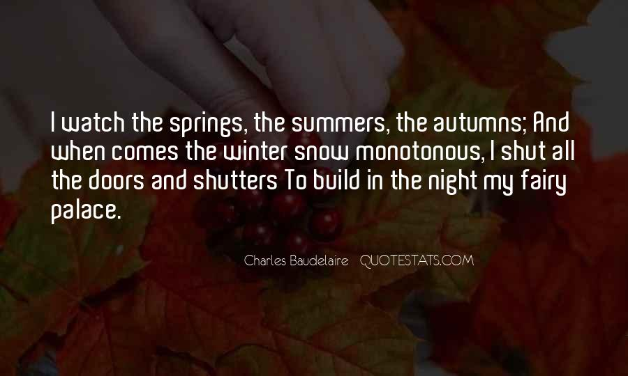 Quotes About Spring And Summer #1075897
