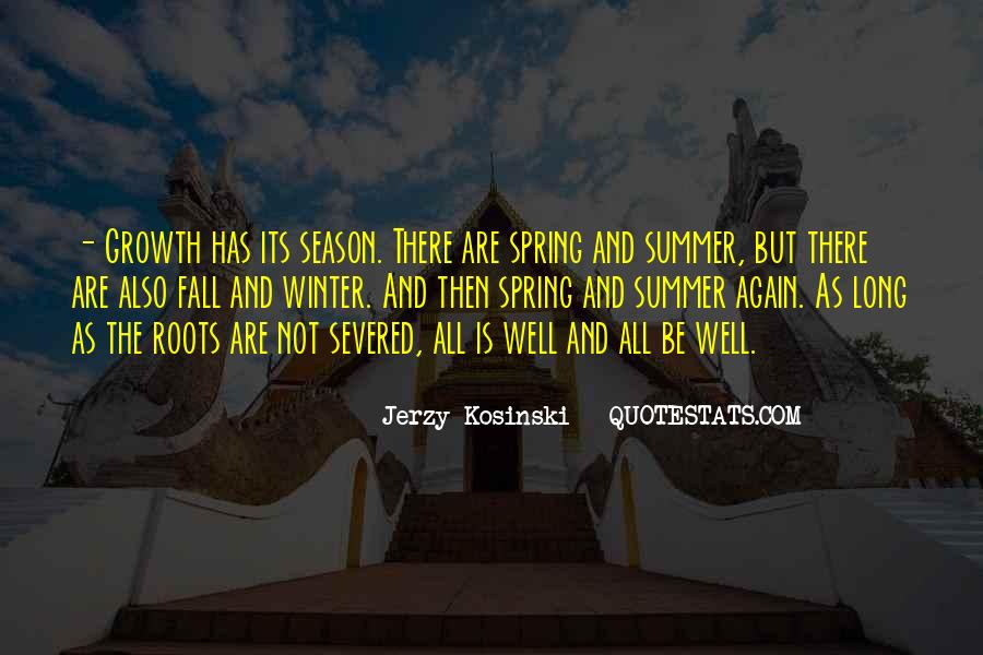 Quotes About Spring And Summer #1131780